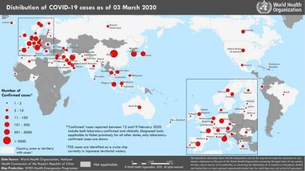 中国向世卫组织捐款全球疫情